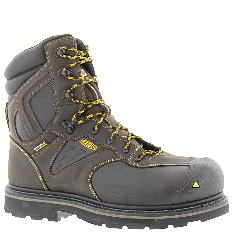 """Keen Utility Tacoma 8"""" XT CSA Men's Brown Boot 10.5 E2"""