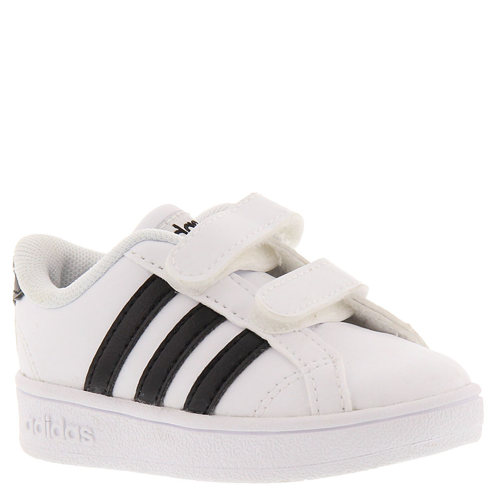 Adidas Baseline CMF INF Boys' Infant-Toddler White Slip O...