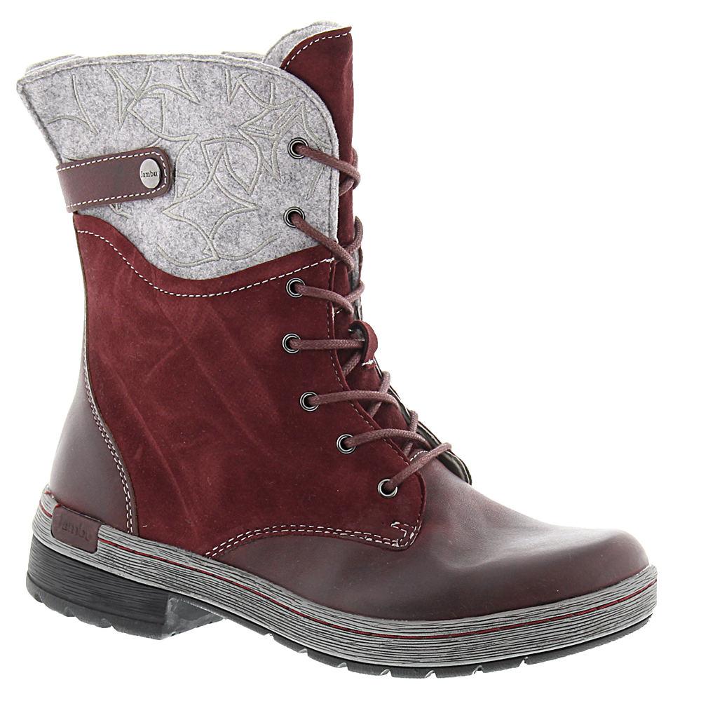 Jambu Hemlock Women's Red Boot 7.5 M 529051RED075M