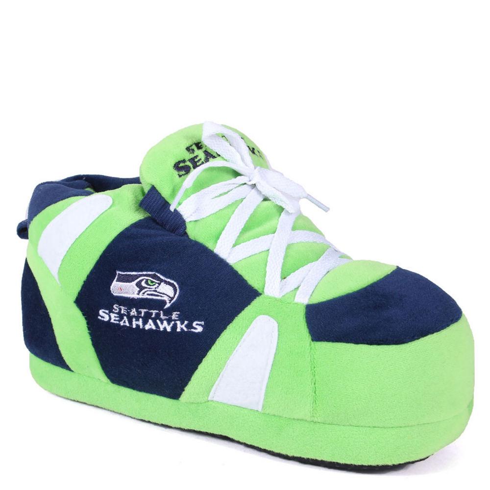 Happy Feet Seattle Seahawks NFL Multi Slipper S M