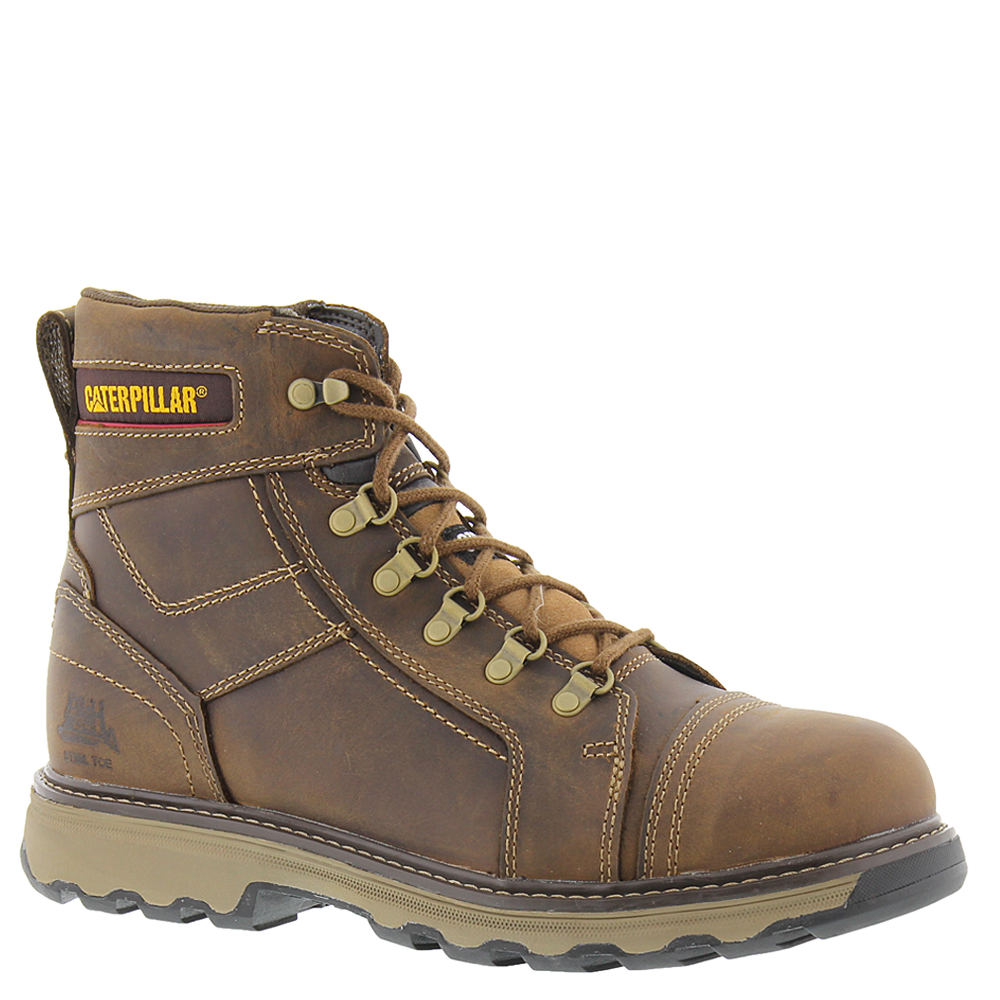 "Caterpillar Granger 6"" ST Men's Tan Boot 9 W"