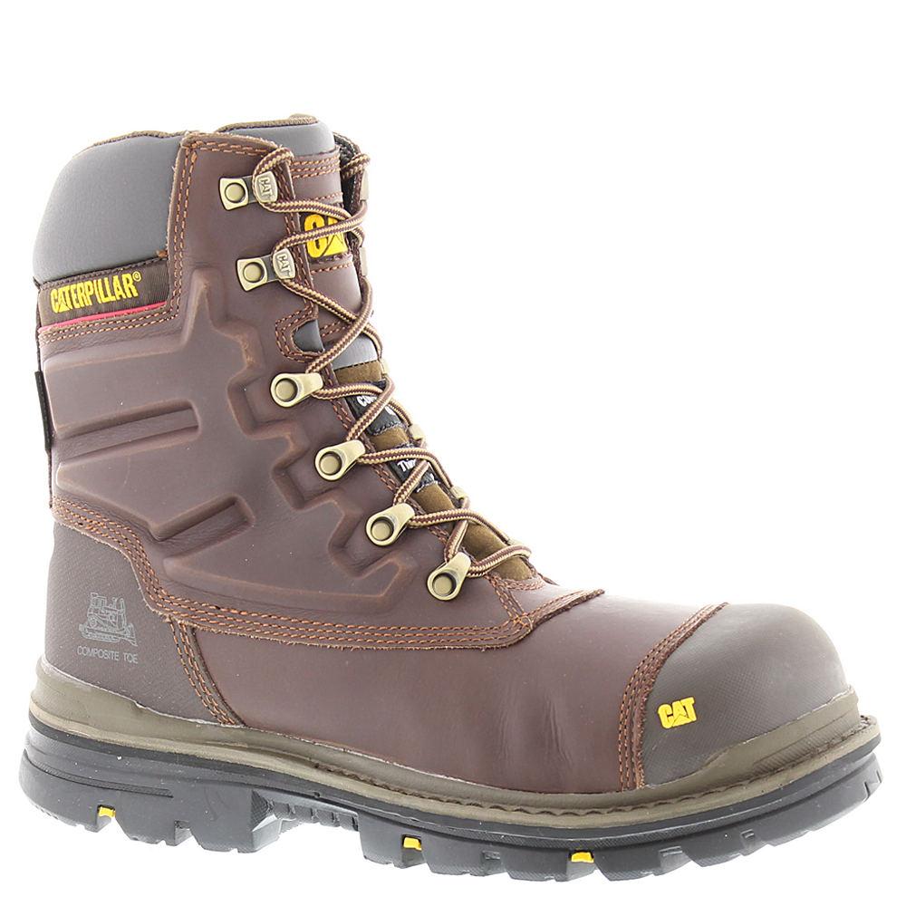"Caterpillar Premier 8"" WP TX CT Men's Brown Boot 10.5 W"