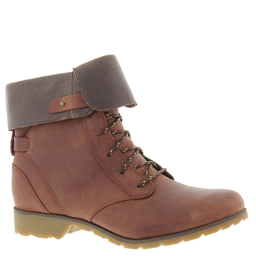 Teva De La Vina Lace Women's Brown Boot 7.5 M