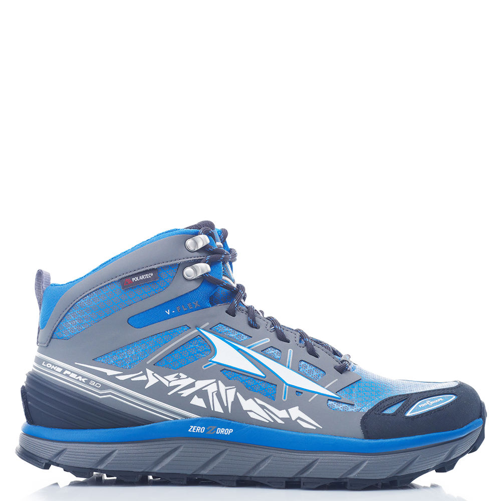 Altra Lone Peak 3.0 Mid Neoshell Men's Blue Running 9 M