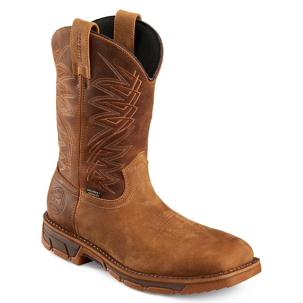"""Irish Setter 11"""" Marshall ST Men's Brown Boot 10 D"""