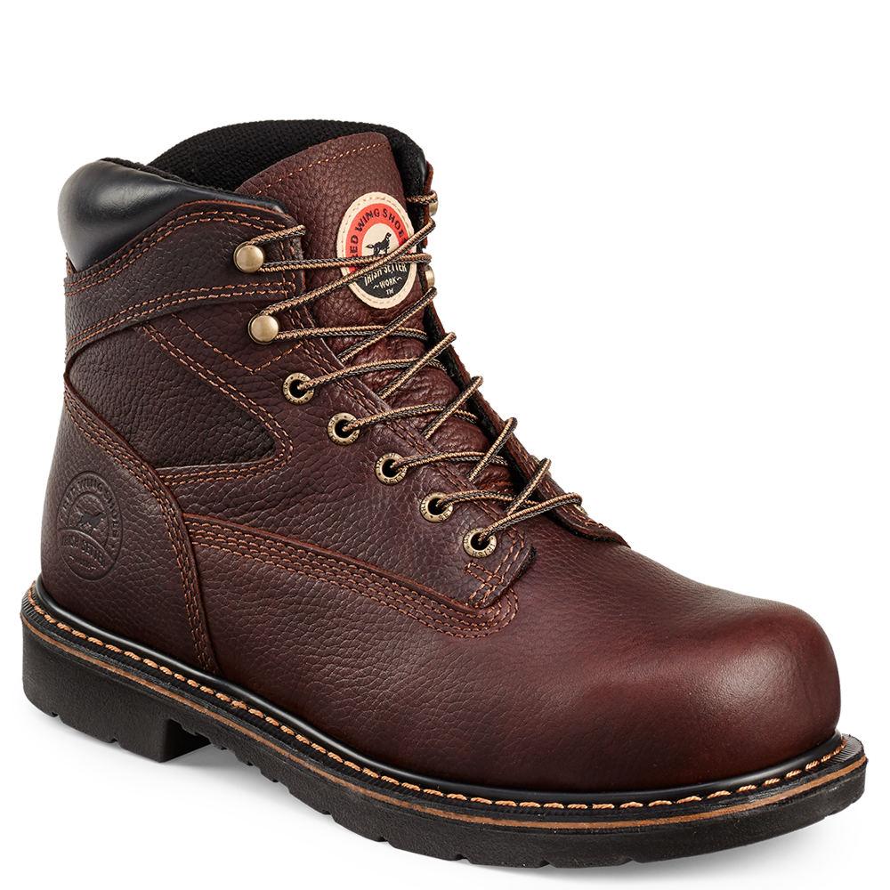 """Irish Setter 6"""" Farmington ST Men's Brown Boot 9 E2"""