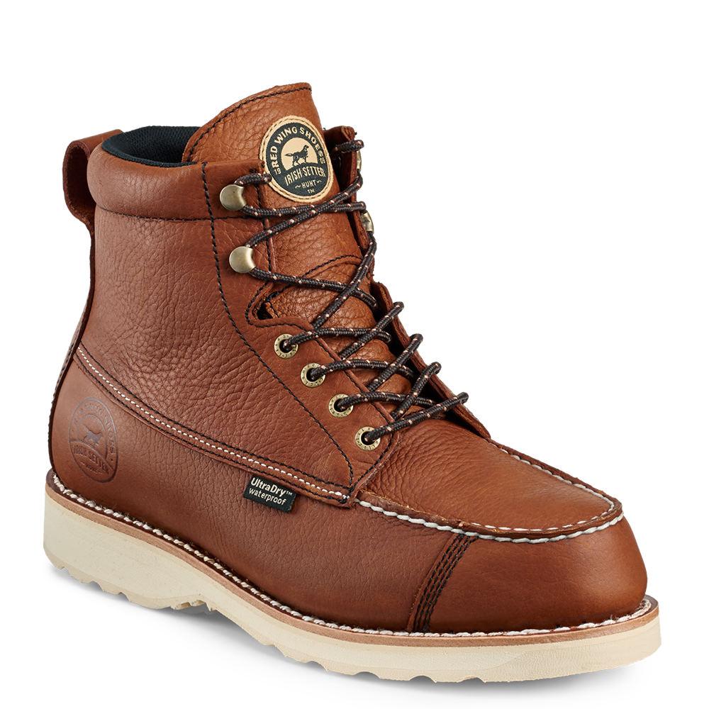 "Irish Setter 7"" Wingshooter Men's Brown Boot 8 D"