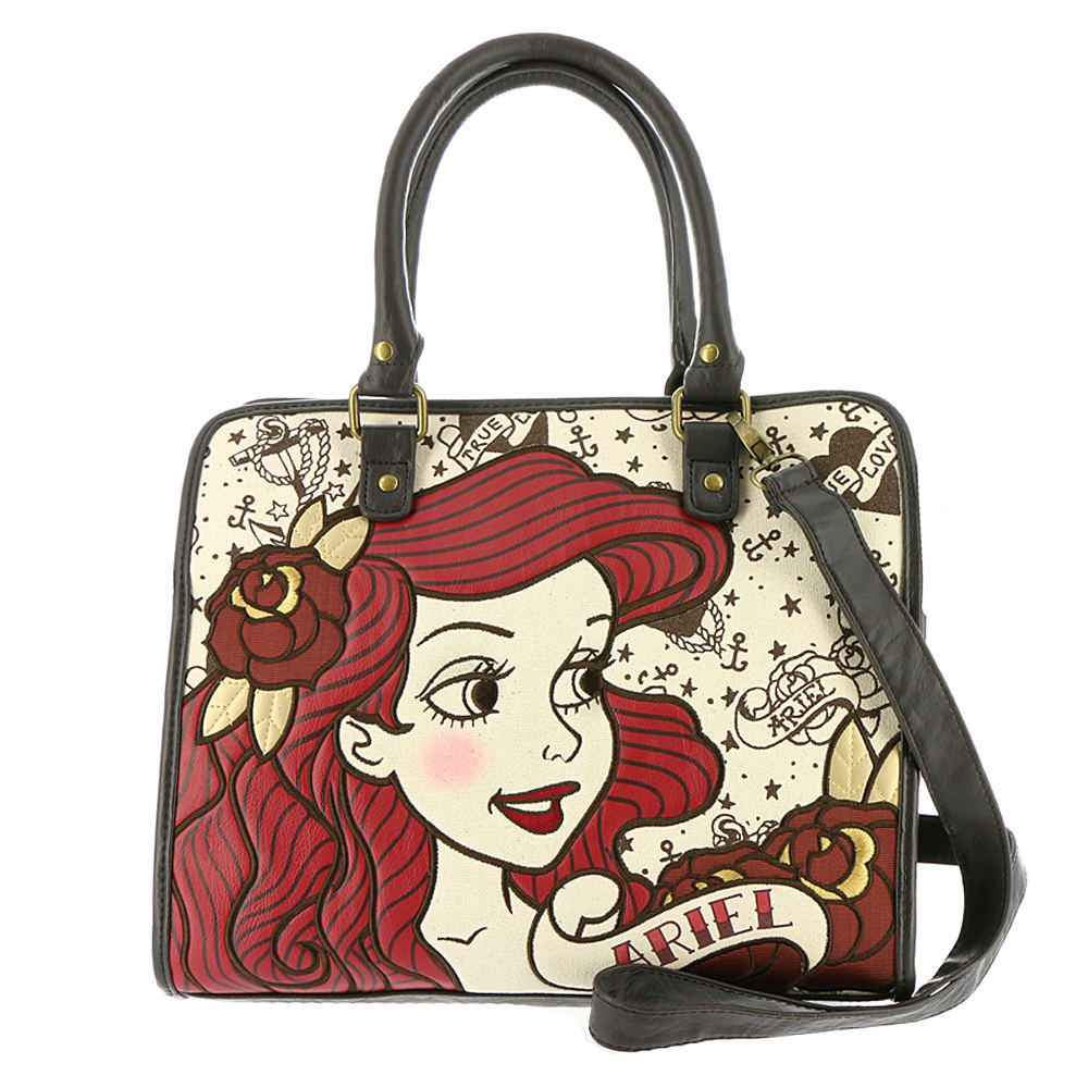 Loungefly Ariel True Love Tote Bag Tan Bags No Size