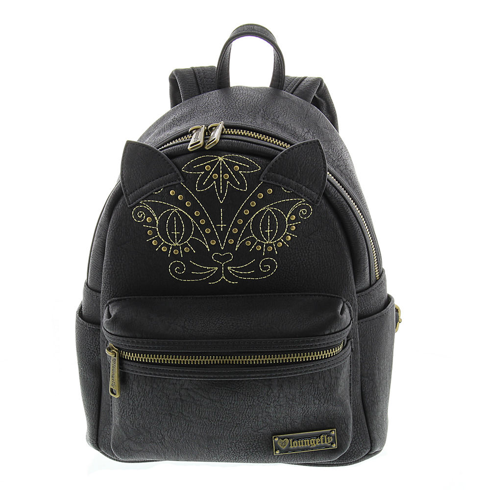 Loungefly Cat Mini Faux Leather Backpack Black Bags No Size
