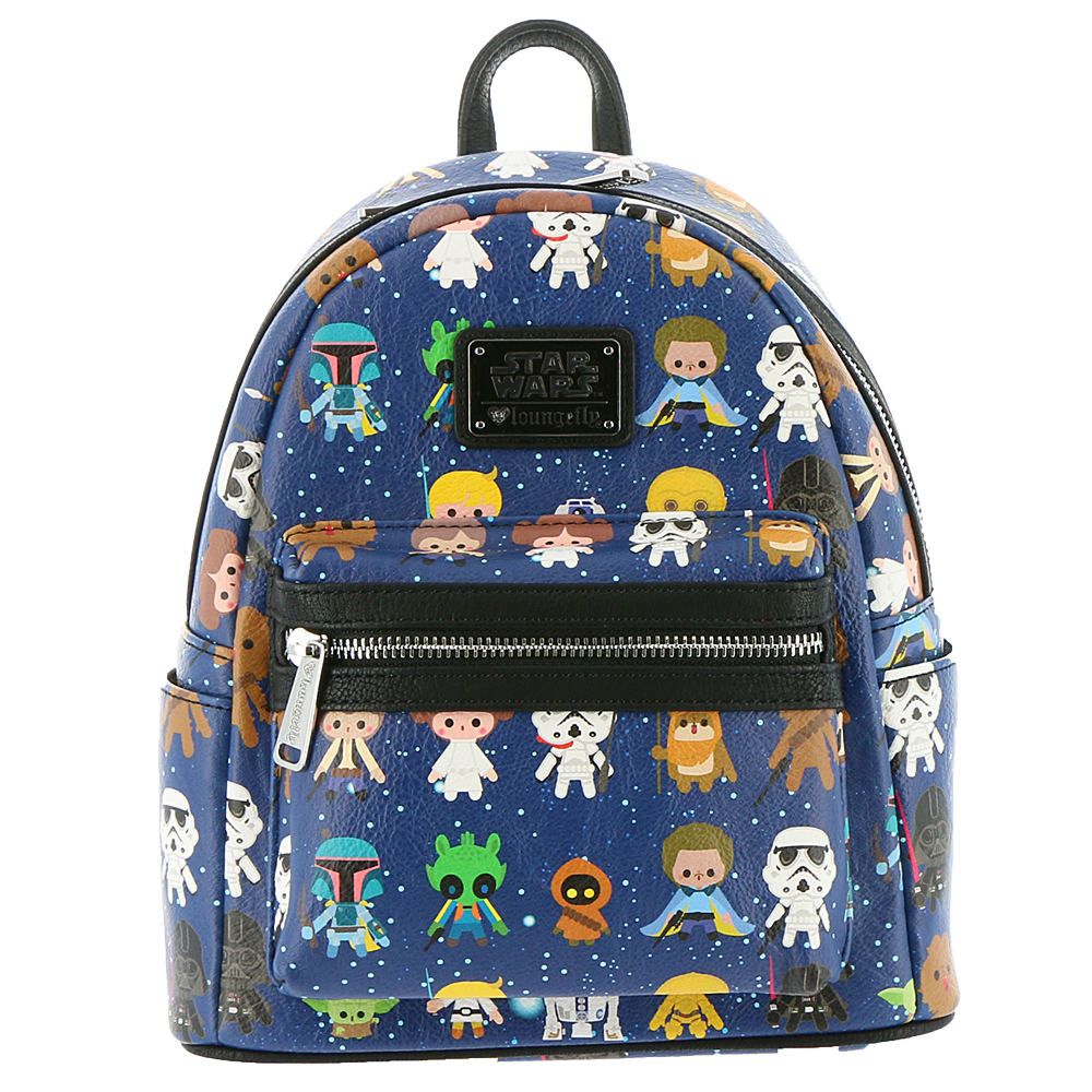 Loungefly Star Wars Character Mini Backpack Navy Bags No ...