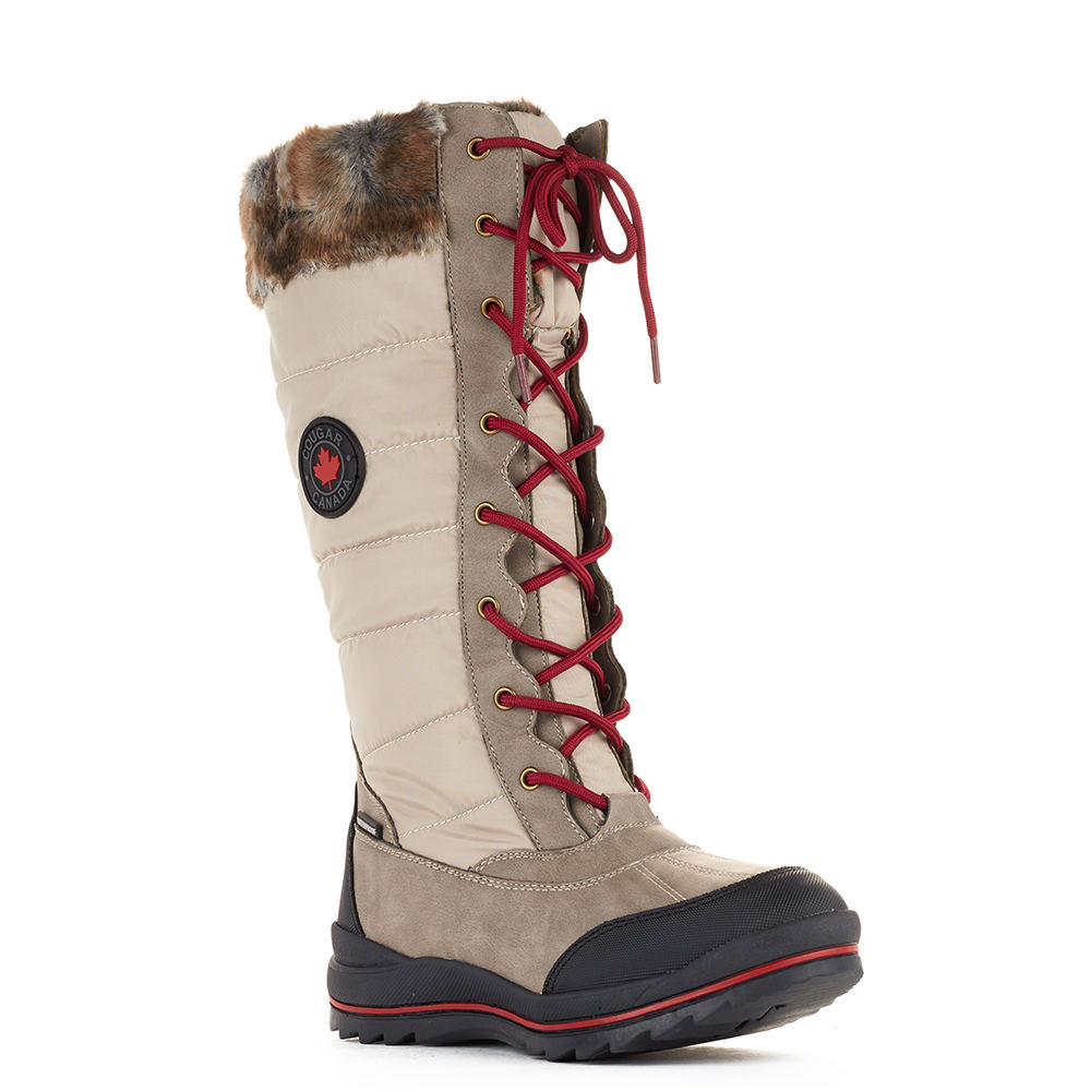 Cougar Chateau Women's Tan Boot 10 B