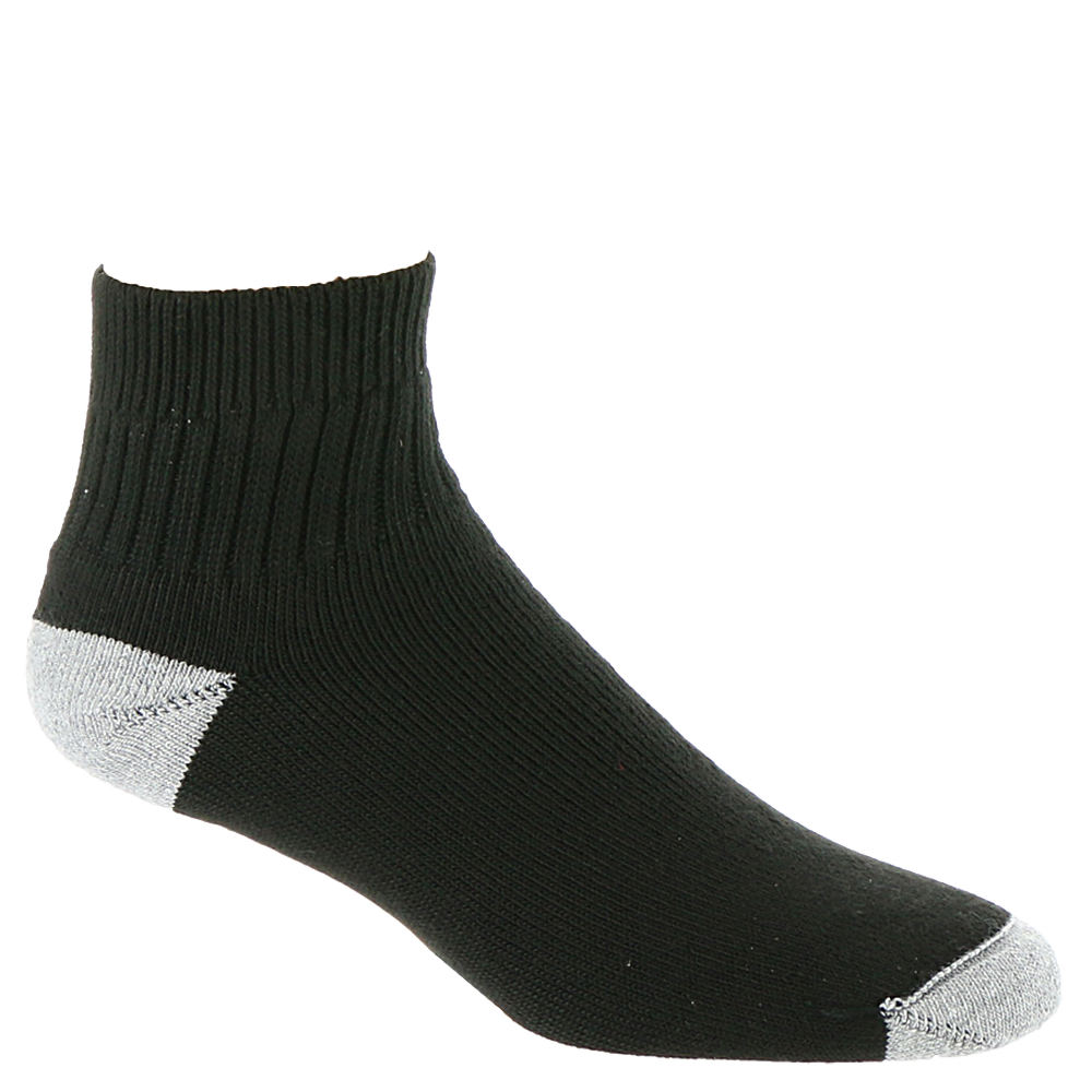 Wigwam Diabetic Sport Quarter Socks Black Socks M 644534BLKMED