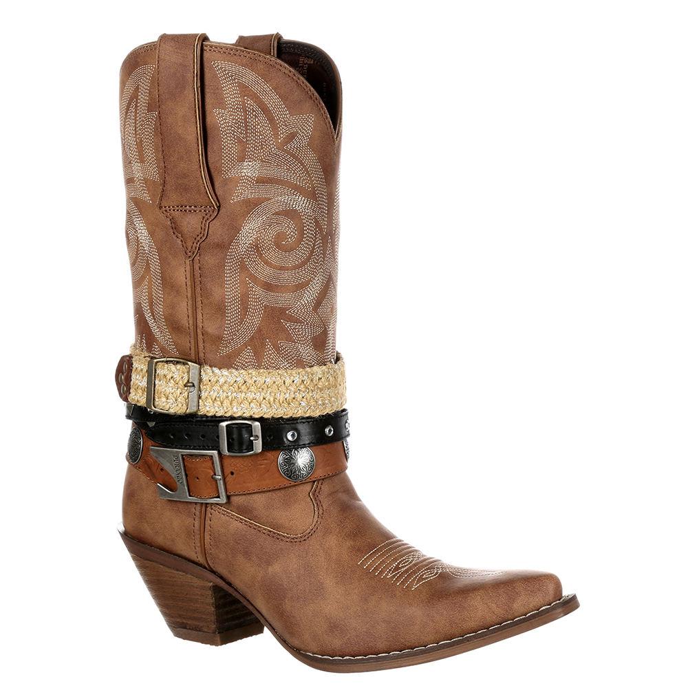 Durango Crush Accessorize Women's Tan Boot 10 M