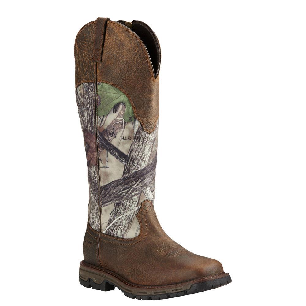 Ariat Conquest Snake  H2O Men's Tan Boot 12 E2