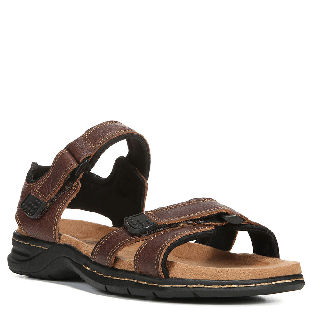 Dr. Scholls Gus Men's Brown Sandal 12 M