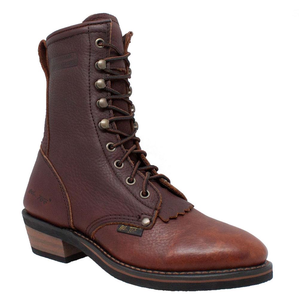"Adtec 8"" Packer Women's Brown Boot 9.5 M"