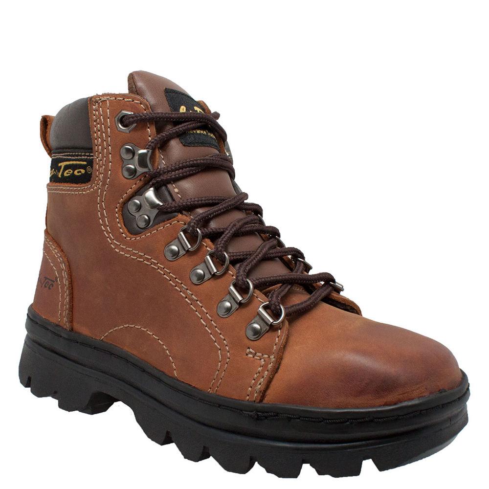 """Adtec 6"""" Work Hiker Women's Brown Boot 7 M"""