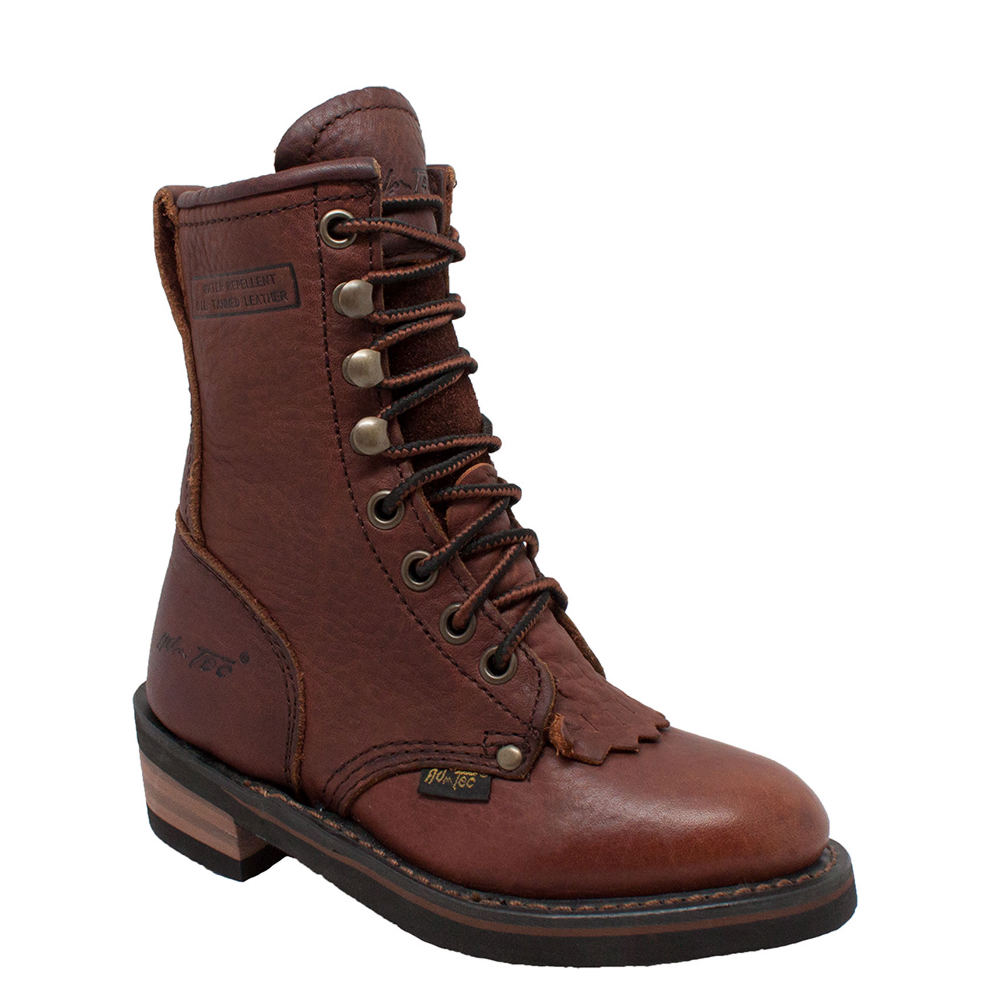 Adtec Packer  Kids Toddler-Youth Brown Boot 3 Youth M
