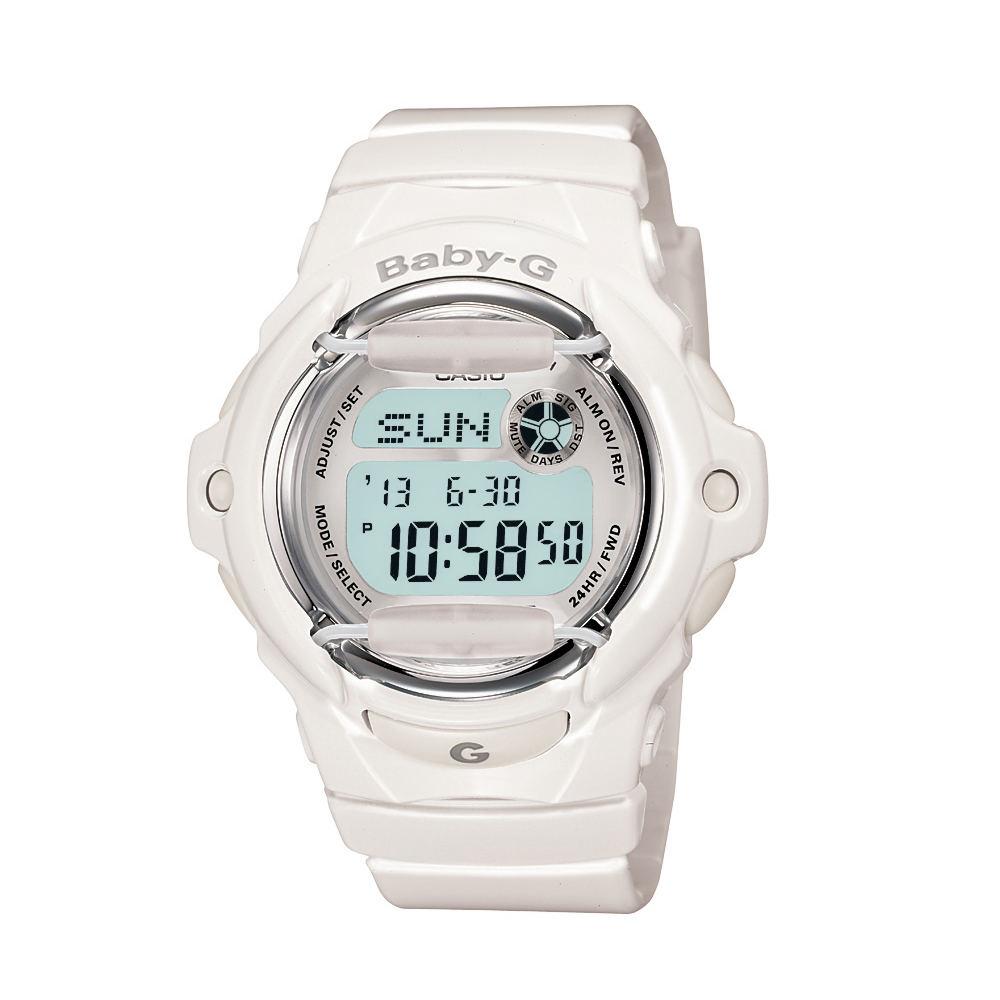 Casio Baby G Gloss White Jelly Watch White Watches No Size