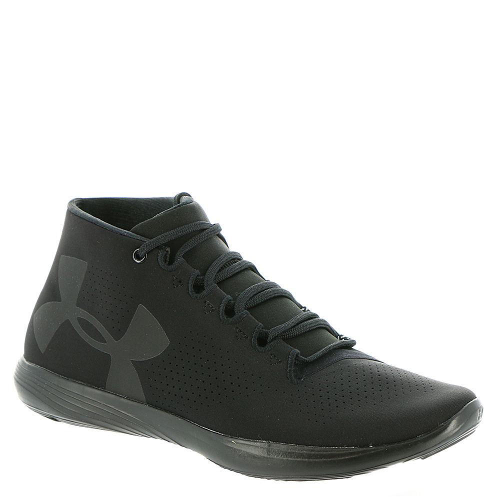 Under Armour Street Precision Mid Women's Black Sneaker 6 M 519043BLK060M
