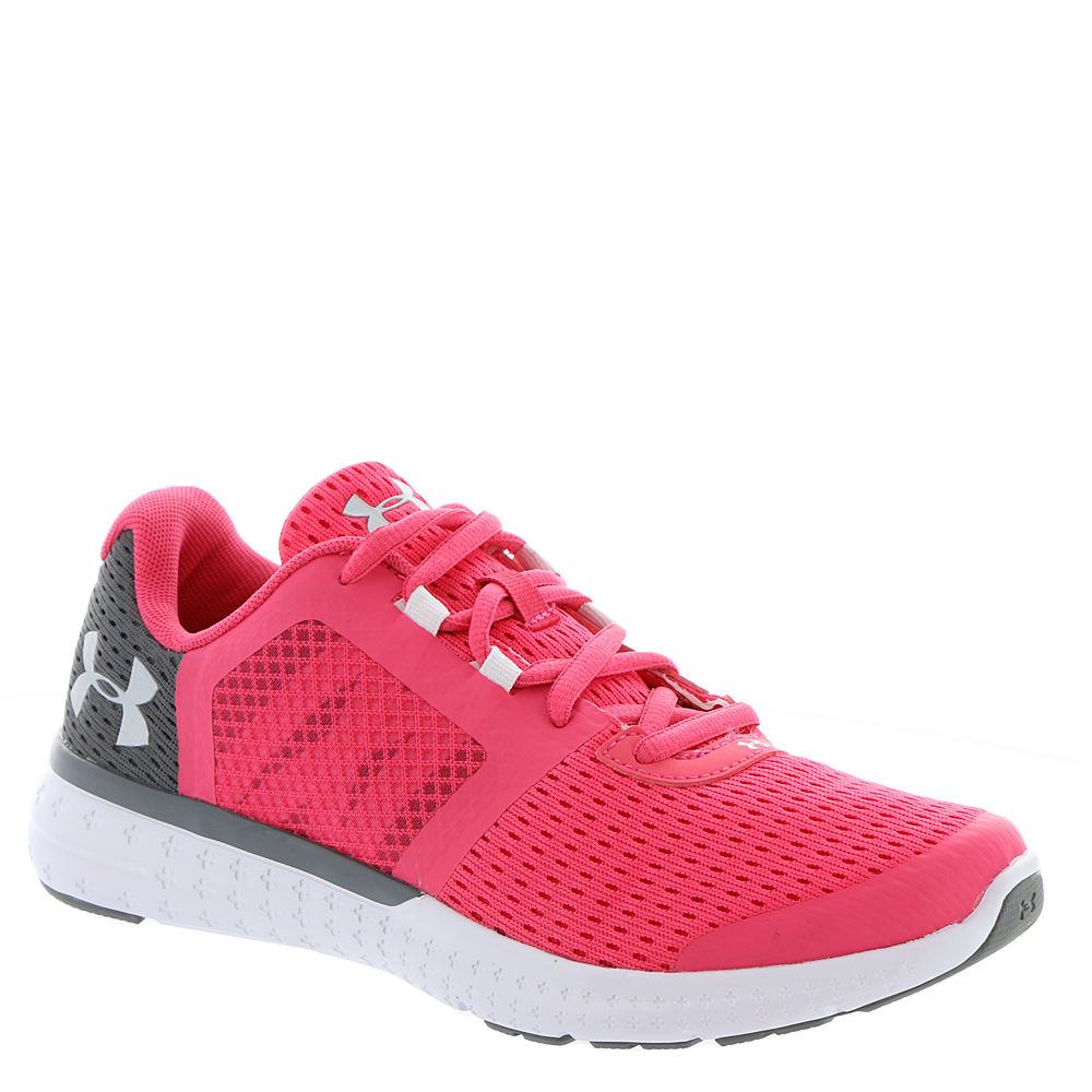 Under Armour GGS Micro G Fuel RN Girls' Youth Pink Runnin...