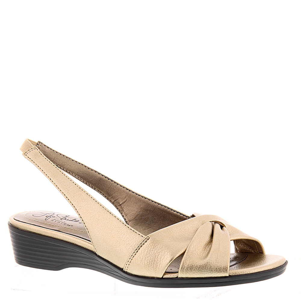 LifeStride Mimosa II Women's Gold Sandal 11 W