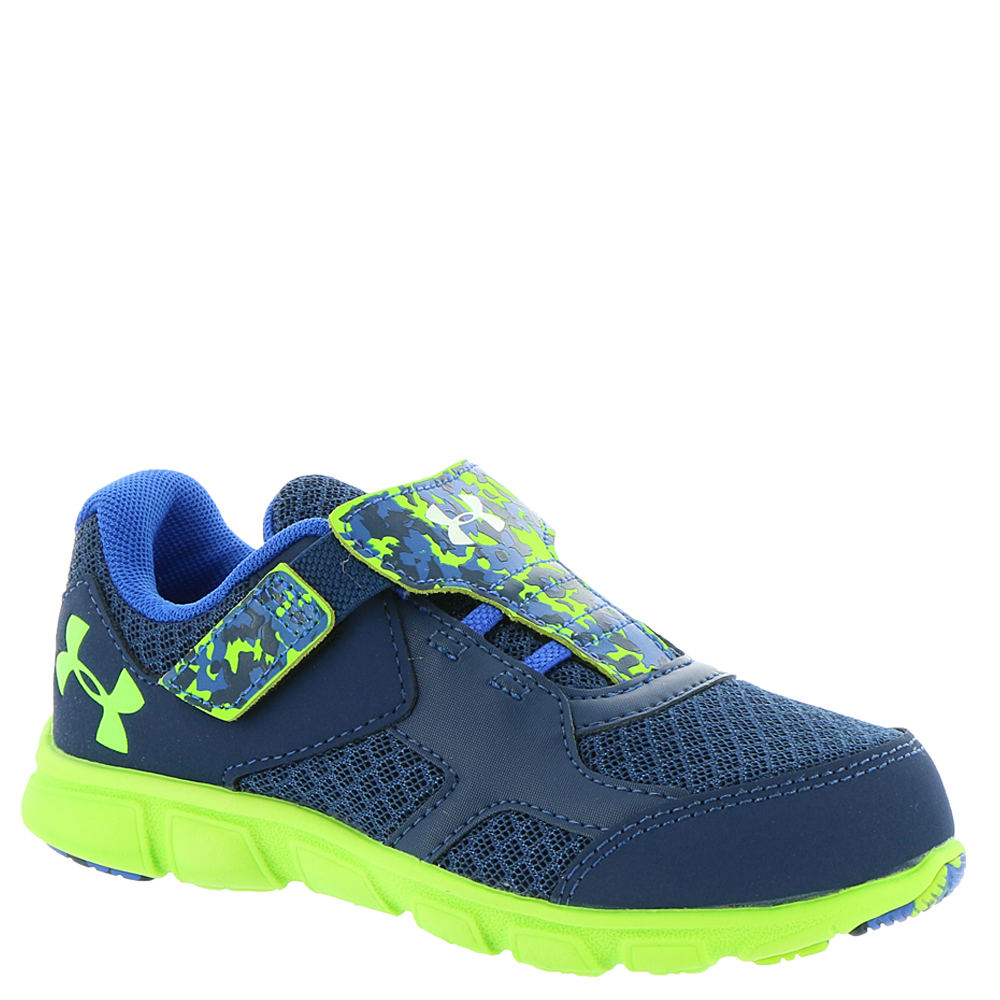 Under Armour INF Thrill RN AC Boys' Infant-Toddler Navy Running 6 Toddler M 822595NVY060M