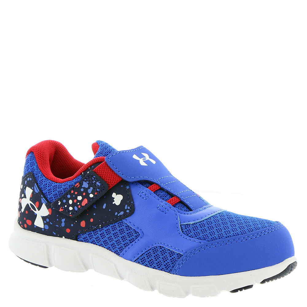Under Armour INF Thrill RN AC Boys' Infant-Toddler Blue Running 5 Infant M 824067ULB050M