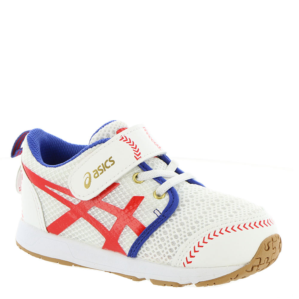 Asics School Yard TS Boys' Infant-Toddler White Sneaker 4...