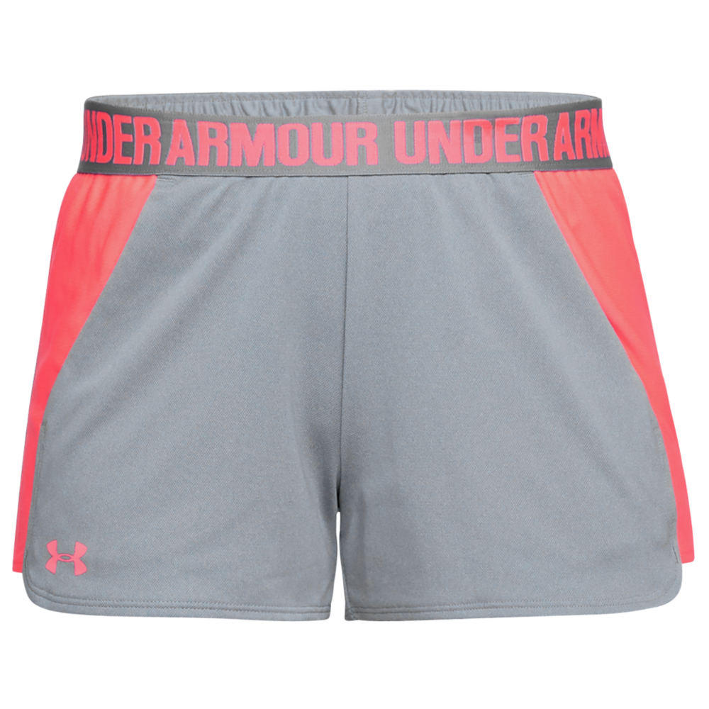 Under Armour Women's New Play Up Short Grey Shorts XXL 711228HGR2XL