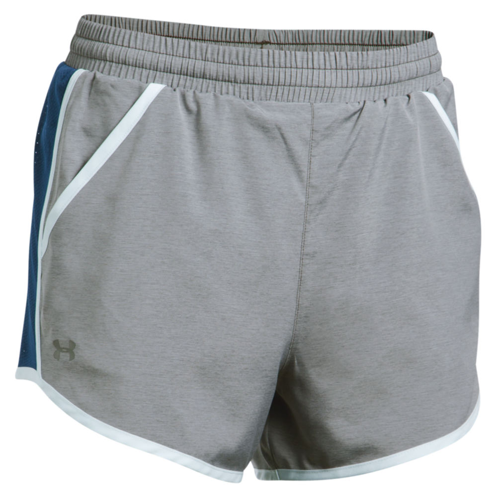 Under Armour Fly By Short Grey Shorts XL 711222CBHXL