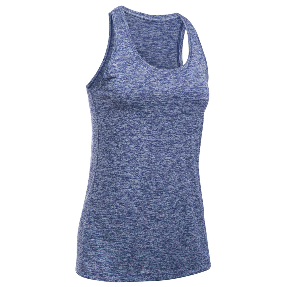 Under Armour Tech Tank Twist Purple Knit Tops L 711235PRPL