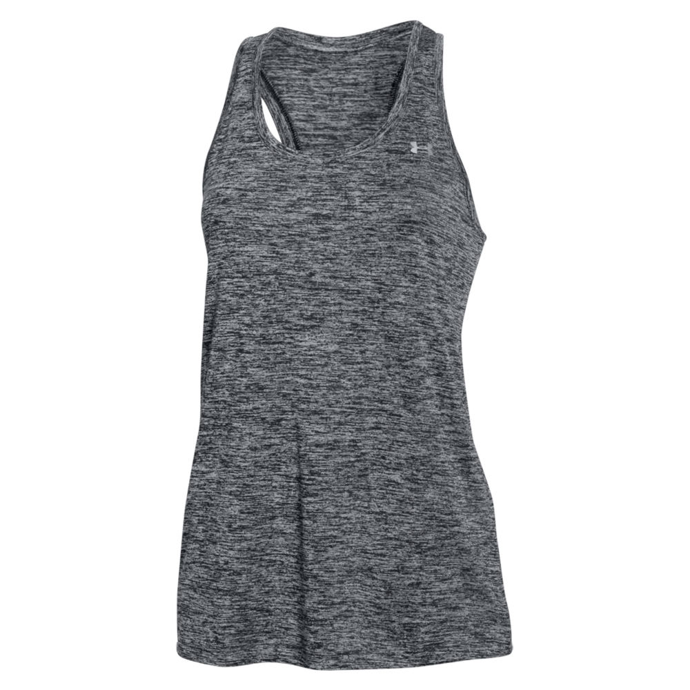 Under Armour Tech Tank Twist Black Knit Tops XL 711235BLKXL