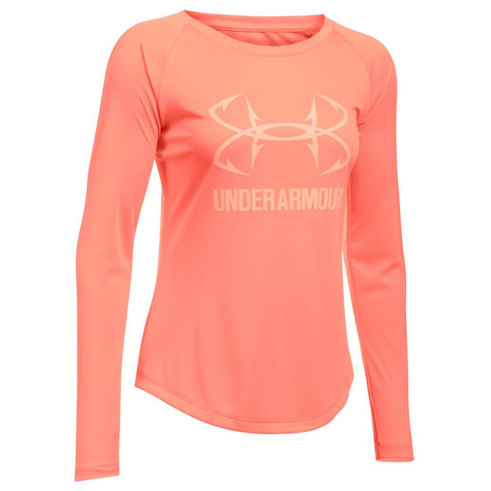 Under Armour Women's Fish Hunter Tech Long Sleeve 711219ORGM