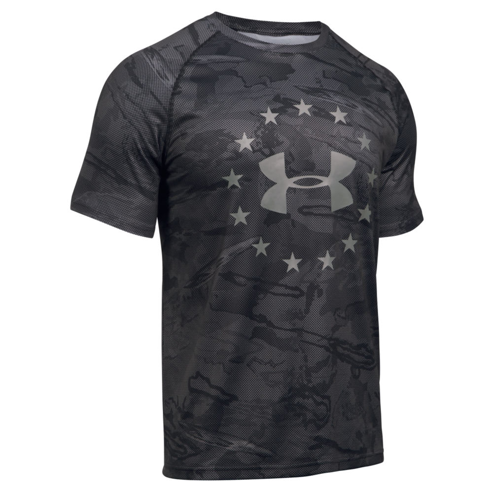Under Armour Men's Freedom Reaper Tech Short Sleeve Tee Black Knit Tops XXL 711244BLK2XL
