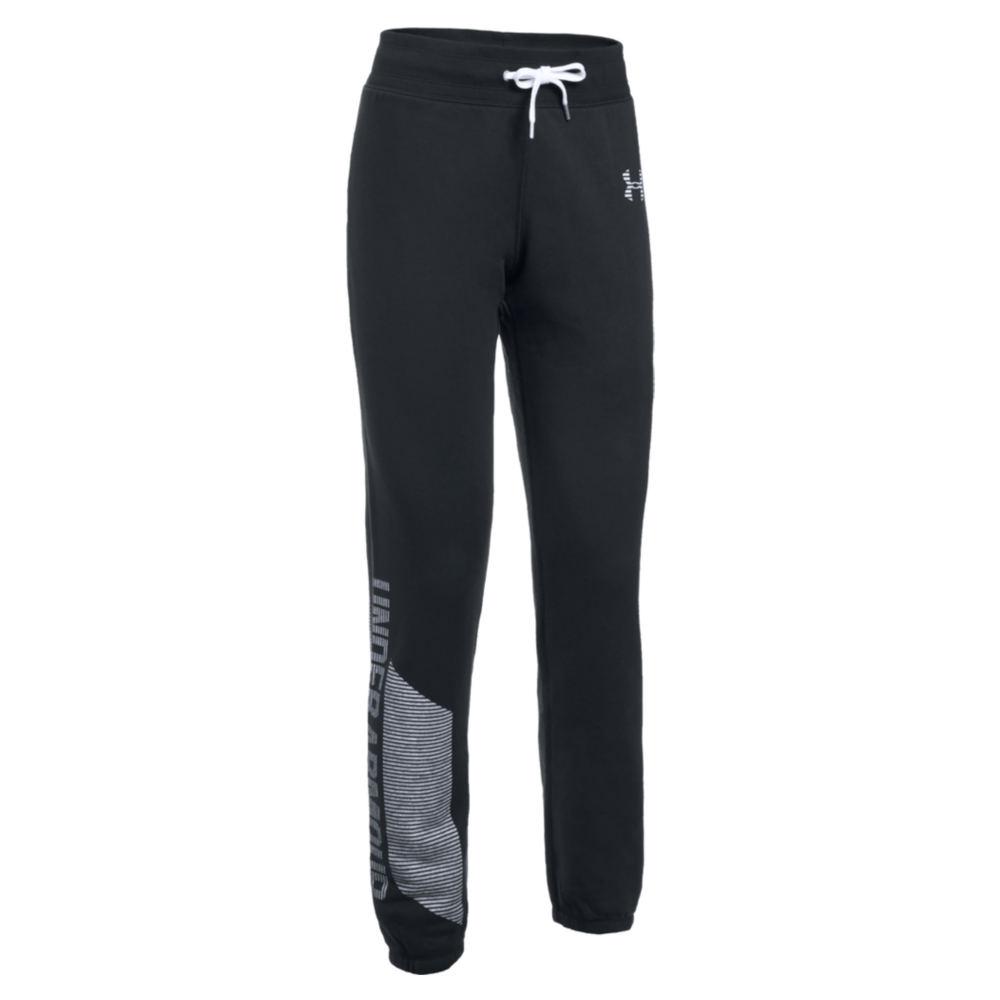 Under Armour Women's UA Favorite Fleece Pant Black Pants S-Regular 711260BLKS