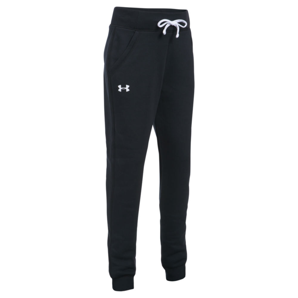 Under Armour Girls' Favorite Fleece Jogger Black Pants S-Regular 822697BLKS