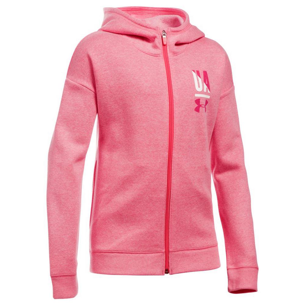 Under Armour Girls' UA Favorite Fleece Full Zip 822714GLHM