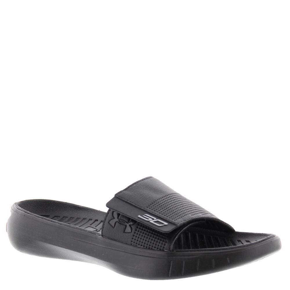 Under Armour Curry III SL Men's Black Sandal 12 M 646976BLK120M