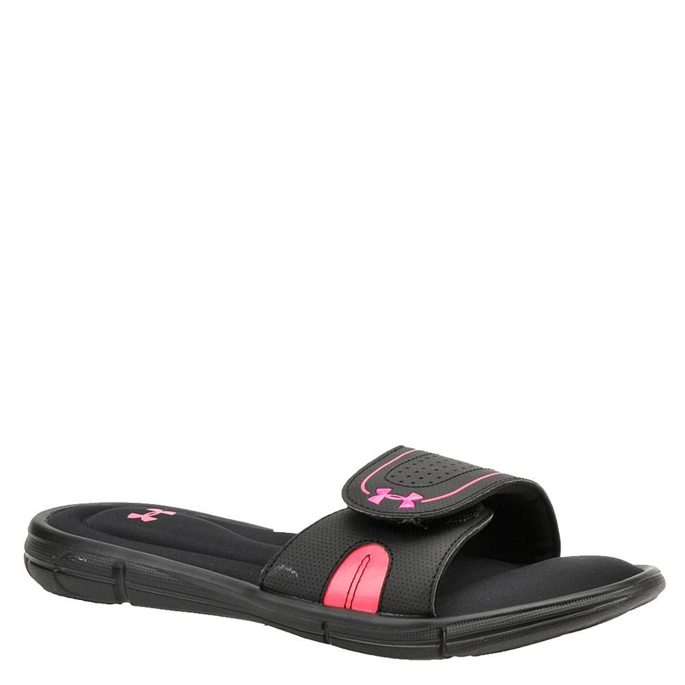 Under Armour Ignite VIII SL Women's Black Sandal 6 M 534063BLK060M