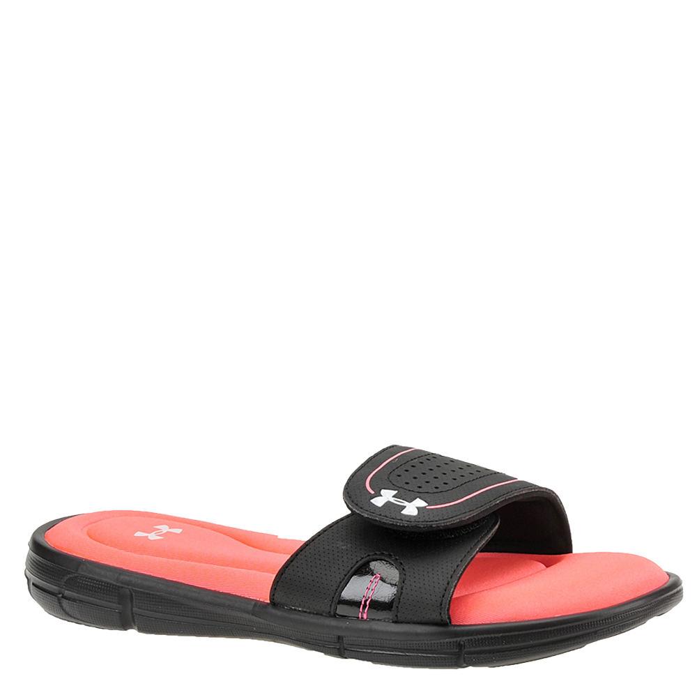 Under Armour Ignite VIII SL Women's Black Sandal 6 M 560186BLK060M