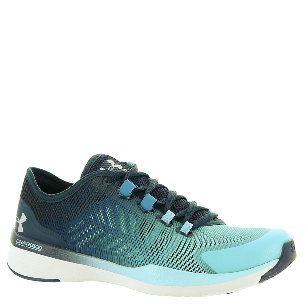 Under Armour Charged Push TR Seg Color Women's Blue Training 6 M 534147BLU060M