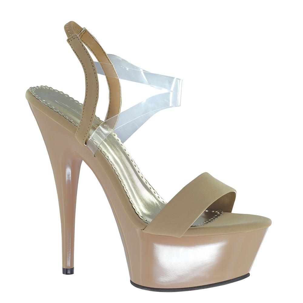 Johnathan Kayne Suntan Women's Tan Sandal 9.5 M