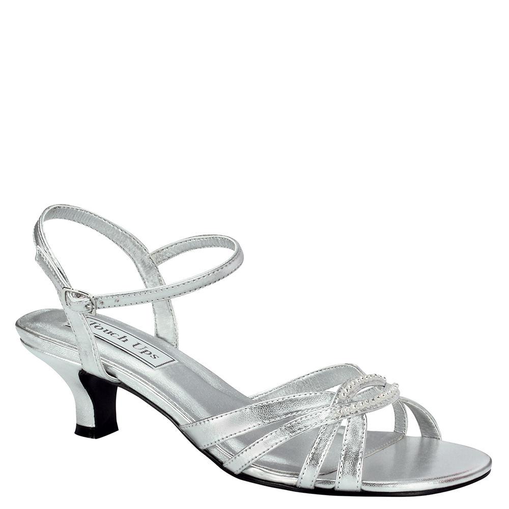 Touch Ups Dakota Women's Silver Sandal 6.5 M
