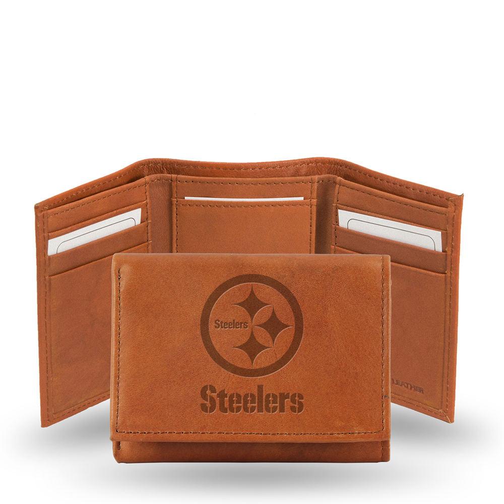 NFL Embossed Tri-Fold Wallet by Rico Industries Multi Mis...