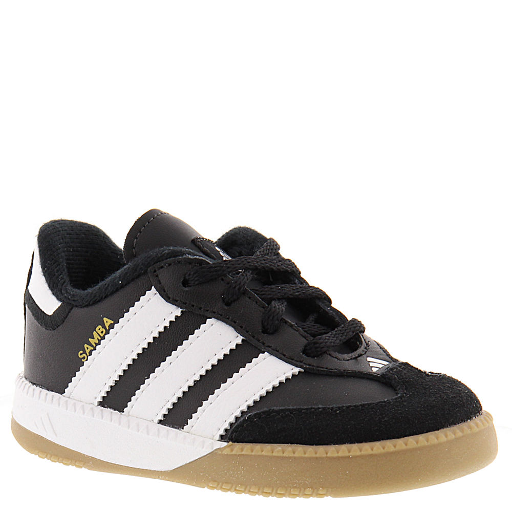 Adidas Samba M Boys' Infant-Toddler Black Slip On 4 Infant M