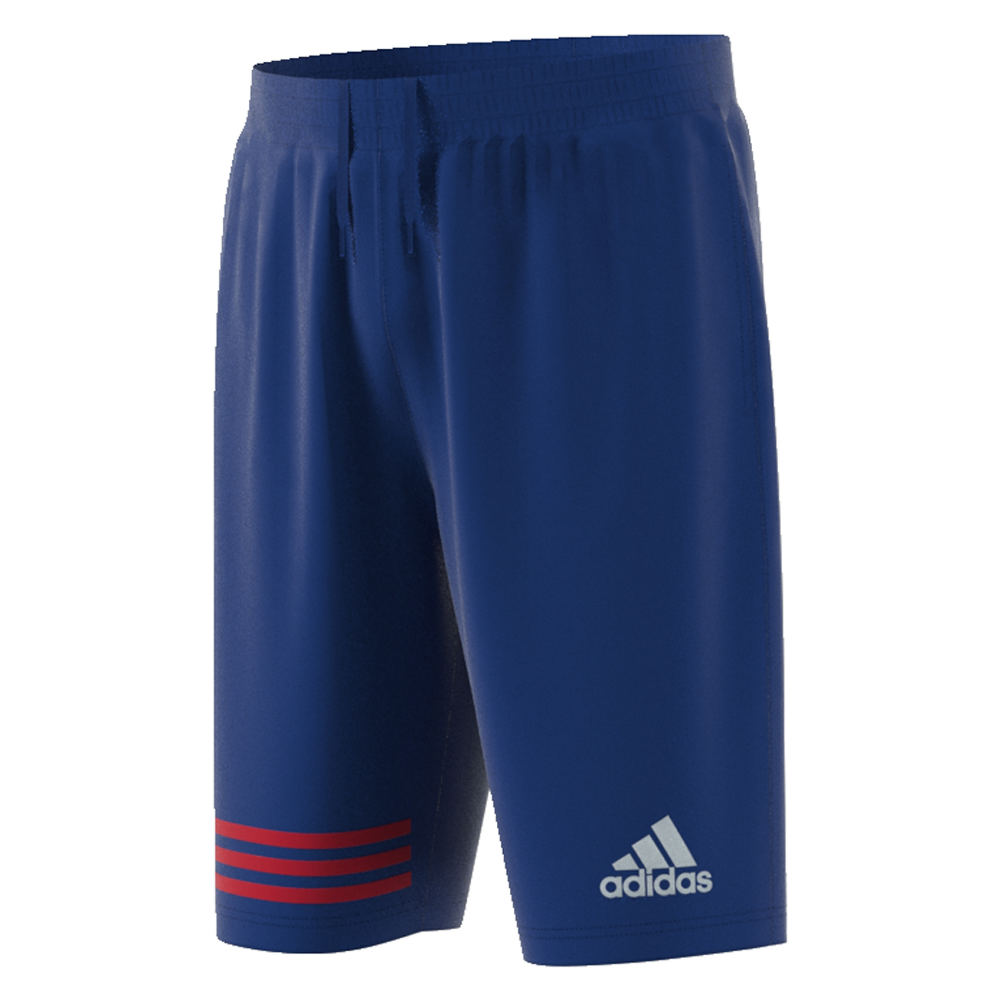 adidas Men's MM 3-Stripes Short Blue Shorts XL 711472RYLXL