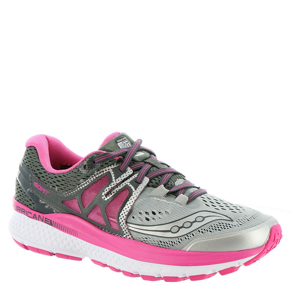 Saucony Hurricane ISO 3 Women's Grey Running 6.5 M
