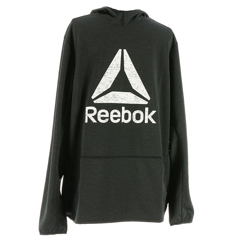 Reebok Men's WR OTH Graphic Hood Black Knit Tops M 711646BLKM