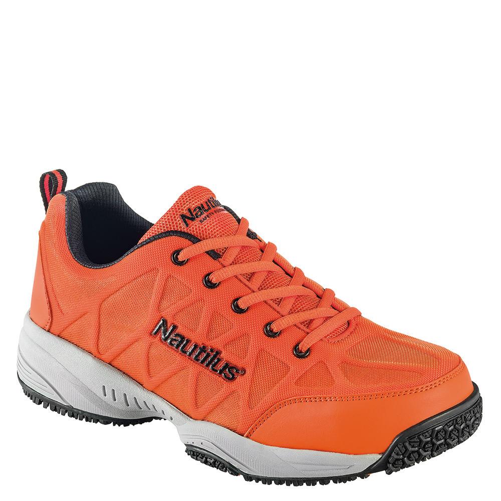 Nautilus Superlight Non Slip Duty Men's Orange Oxford 8 M